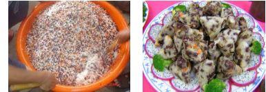 紅豆杏福粽