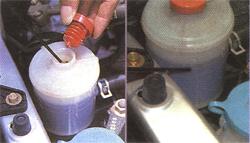 動力方向盤油檢查